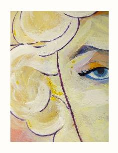 Retrato Espontáneo Marilyn Monroe-Detalle1-