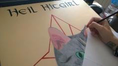 Hitgirl - detalle proceso de trabajo-