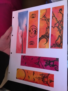 Acuarela, acrílico y tinta sobre papel